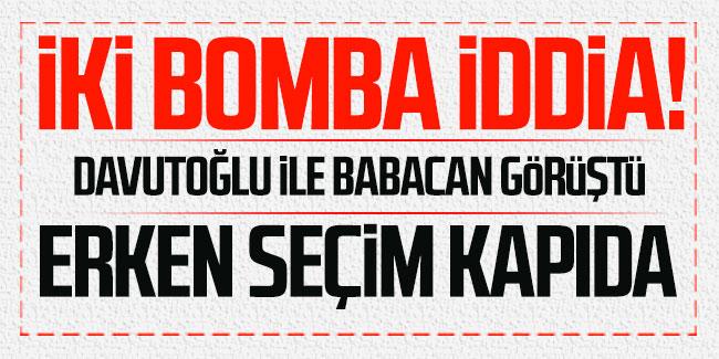 Ankara kulislerini sallayan erken seçim iddiası