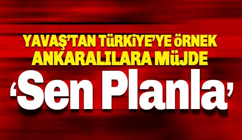 Yavaş'tan örnek proje: Ankaralılara büyük müjde