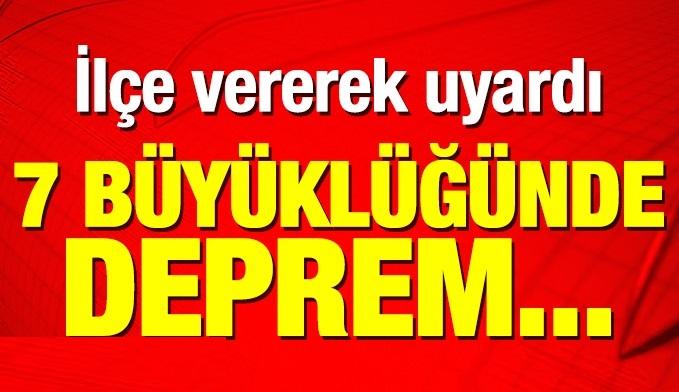Prof. Dr. Doğan Perinçek uyardı: 7 büyüklüğünde deprem...