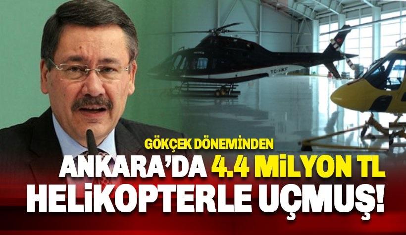 Gökçek döneminde 4.4 milyon lira helikopterle 'uçmuş'