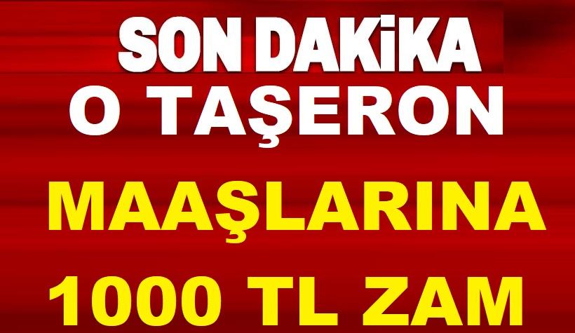 Taşerondan geçen işçilere işçilere TİS'den 1.000 TL zam müjdesi