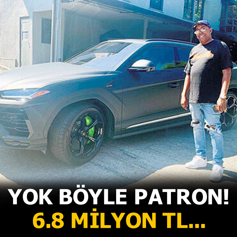 Ünlü sanatçı menajerine doğum gününde 4 milyon 800 bin TL değerinde araba hediye etti!