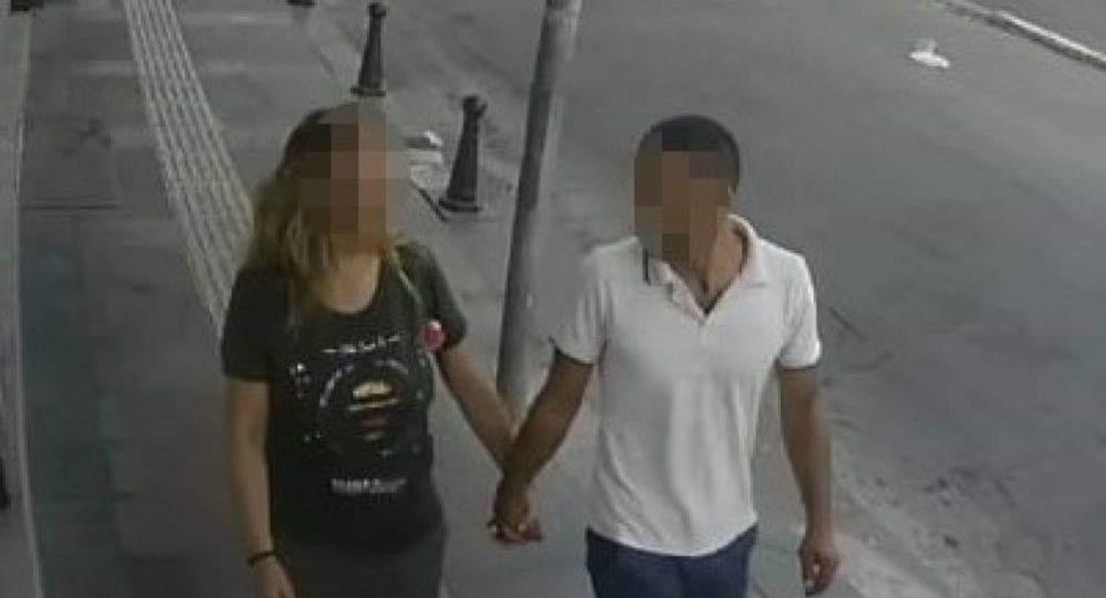 El ele hırsızlık yapan sevgililer yakalandı