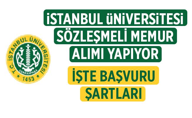İstanbul Üniversitesi - Cerrahpaşa Rektörlüğü Hemşire alım ilanı yayınlandı.