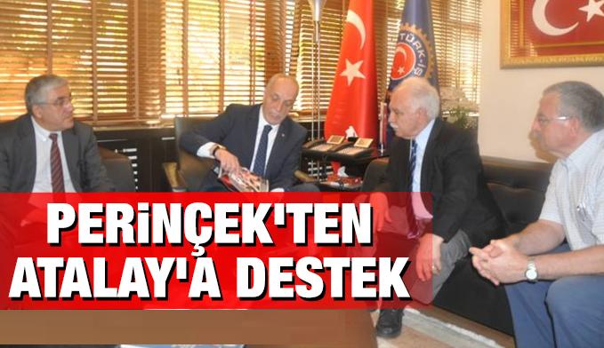 Doğu Perinçek'ten Türk- İş Başkanına Destek