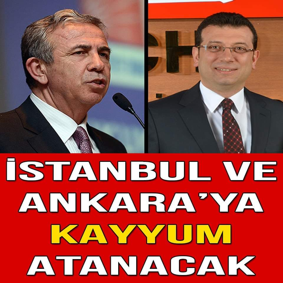 Gürsel Tekin : İstanbul ve Ankara'ya Kayyum Atayacaklar