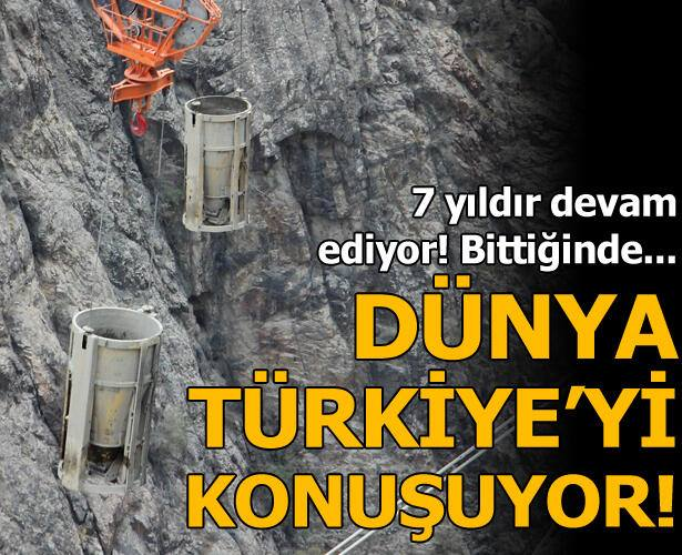Bittiğinde Türkiye'de birinci, dünyada ise üçüncü olacak!