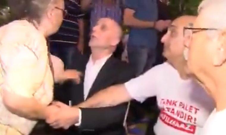 Türk-İş Başkanına taşeron işçi böyle tepki gösterdi: Sen hiç konuşma!