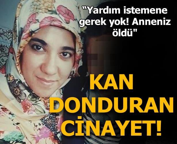 Bekir Erkol tarafından 20 yerinden bıçaklanarak öldürüldü...
