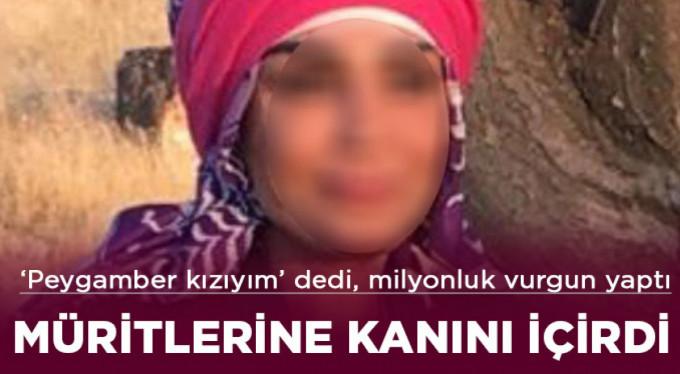 """""""Hz. Süleyman'ın kızıyım"""" diyerek 13 milyon TL'lik vurgun yaptığı iddia edilen şahıs yakalandı"""