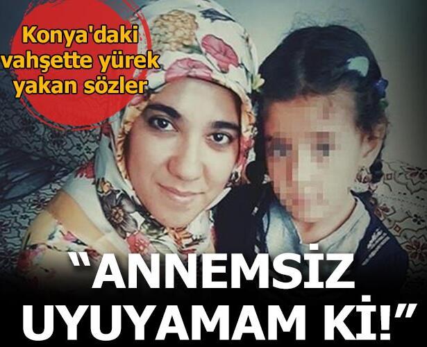 Konya'da 3 çocuk annesi Tuba Erkol, eşi tarafından 20 yerinden bıçaklayarak öldürülmüştü.