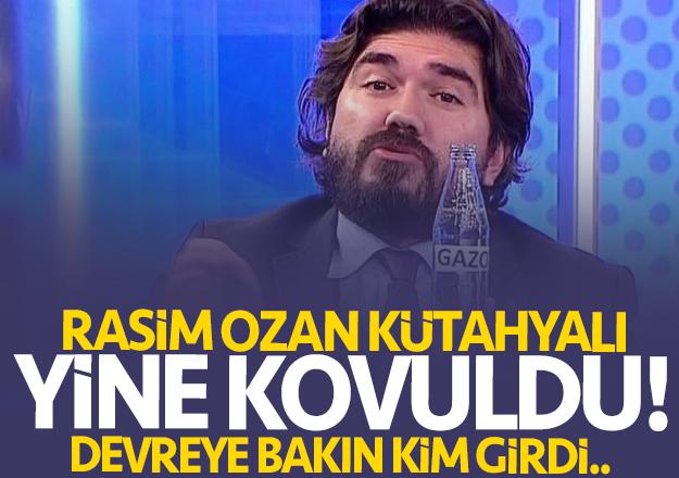 Rasim Ozan Kütahyalı Beyaz TV'den yine kovuldu !
