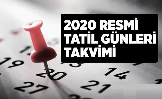 2020 Yılında Kaç Gün Tatil Yapılacak