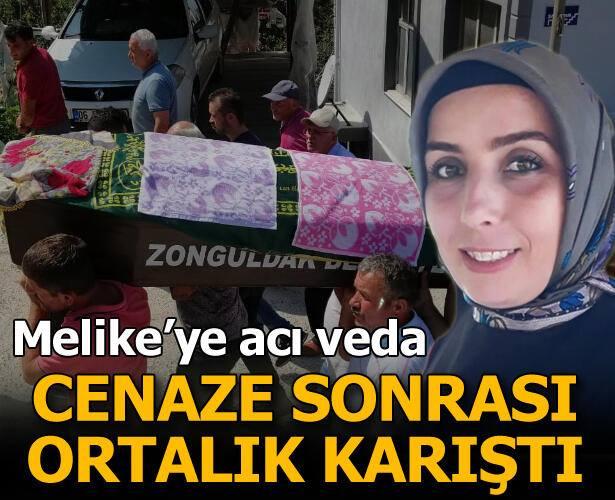 Eşinin silahlı saldırısı sonucu yaşamını yitiren Melike Baştürk'ün cenazesi memleketi Zonguldak'ta defnedildi