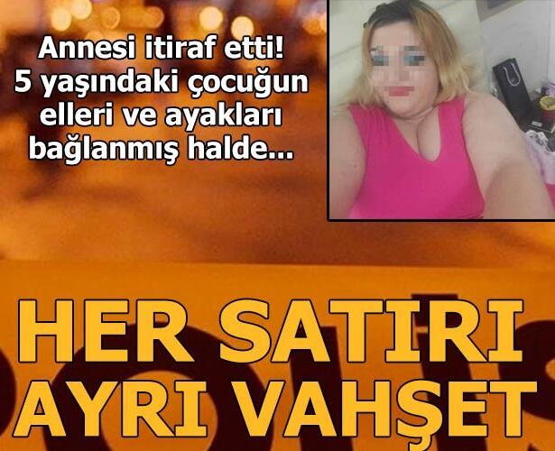 5 yaşındaki Eymen Sadık Durak'ın annesinden şiddet gördüğü ihbarı üzerine başlattığı araştırmada, küçük çocuğun cinayete kurban gittiği ortaya çıktı