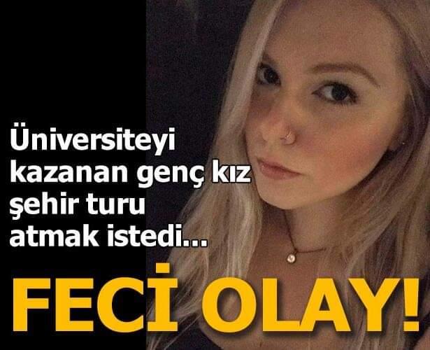 Antalya'ya gitmeden önce ailesiyle birlikte pikniğe giden genç kızın başına korkunç olay geldi