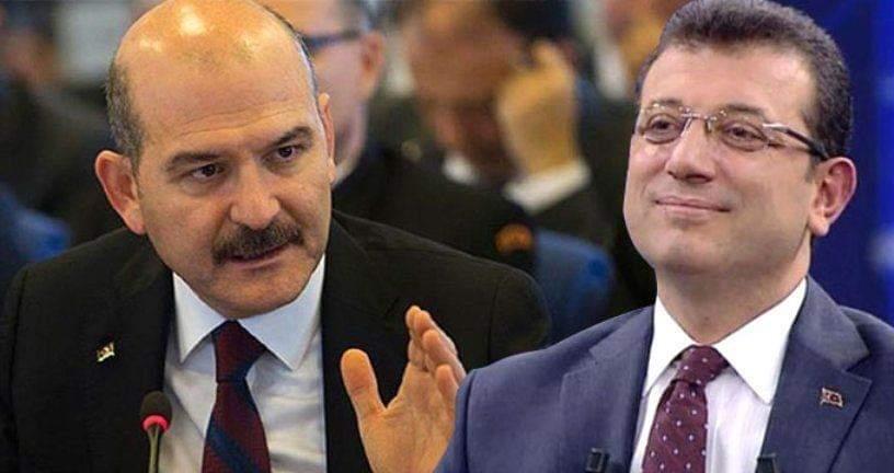 Süleyman Soylu'dan İmamoğlu'na : Pejmürde ederiz