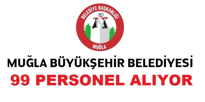 Muğla Büyükşehir Belediyesi 99 Taşeron İşçi Alacak