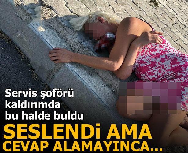 Görenler inanamadı! Yolda sızıp kalan kadını..