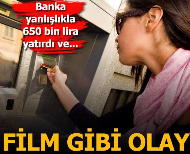 Bankanın hesaplarına yanlışlıkla 650 bin lira yatırdığını gören çift hayatının şokunu yaşadı!