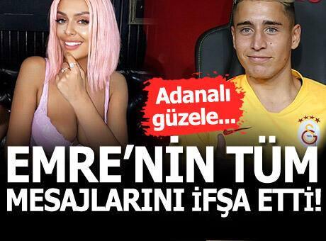 İspanya'nın Celta Vigo takımından Galatasaray'a transfer olan Emre Mor'un tüm mesajlarını ifşa etti