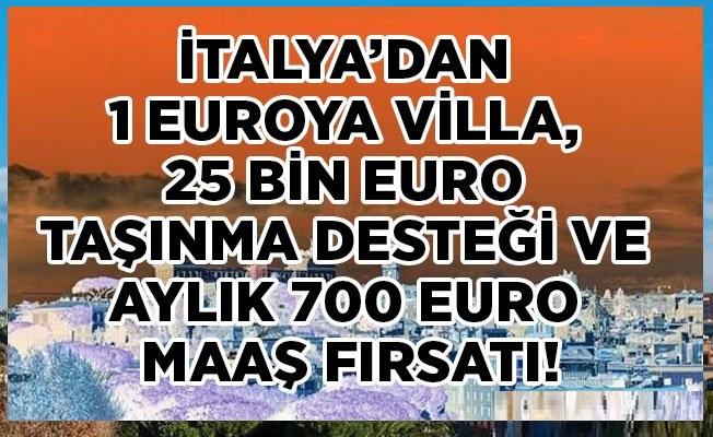 İtalya Molise Kasabasına Taşınana 25 Bin Euro 160 Bin TL Para Verilecek