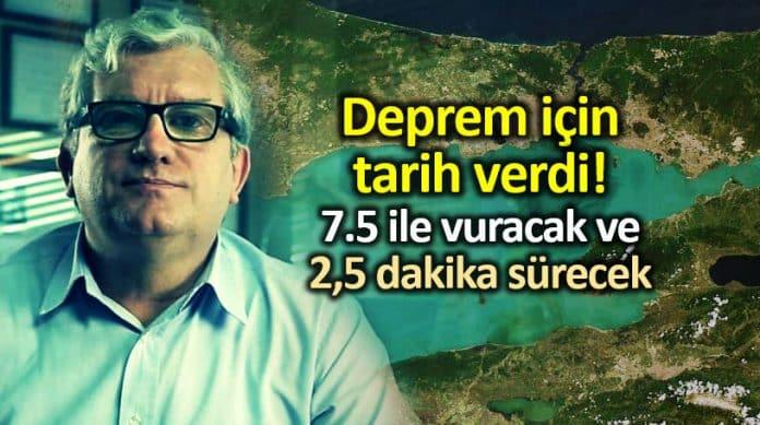 Prof. Dr. Cenk Yaltırak: Deprem en az 7.5 ile  vuracak. 2.5 dakika sürecek