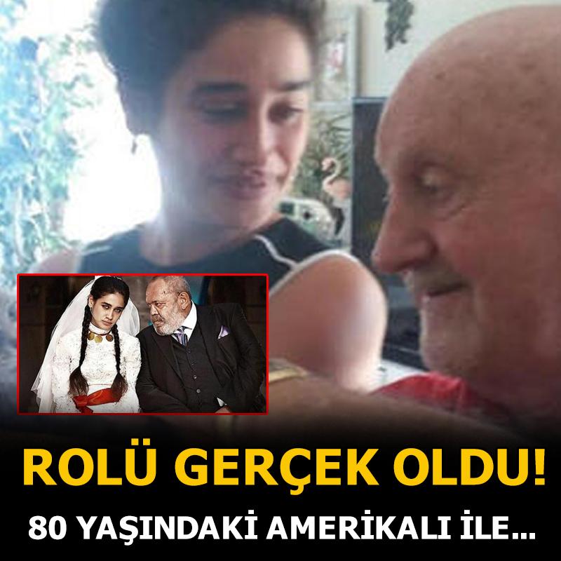 Oyuncu Meltem Miraloğlu, '80 yaşındaki Amerikalı ile evlendi'