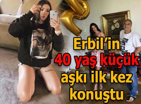 """Mehmet Ali Erbil'in 40 yaş küçük sevgilisi sessizliğini bozdu: """"Sakladığım, gizlediğim bir şey yok"""