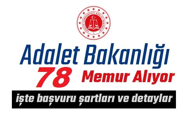 Adalet Bakanlığı 78 Sözleşmeli Personel Alımı İlanı Yayımladı