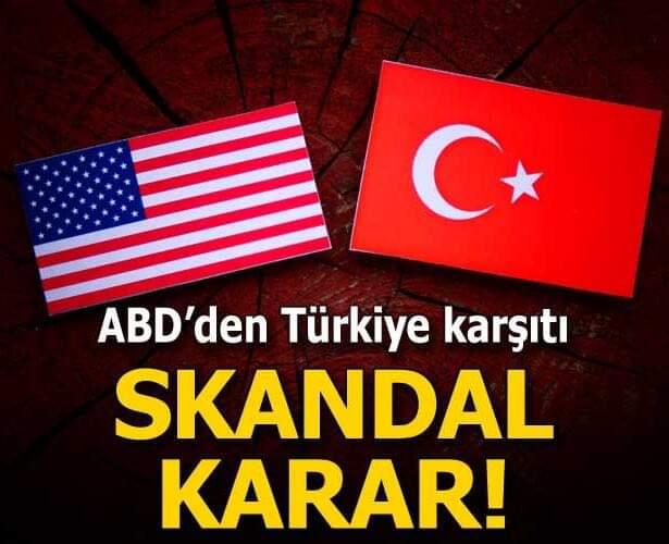 ABD'den Türkiye karşıtı skandal tasarı!