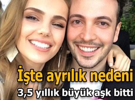 Şarkıcı Oğuzhan Koç ile oyuncu Yağmur Tanrısevsin, 3.5 yıllık ilişkilerine nokta koydu