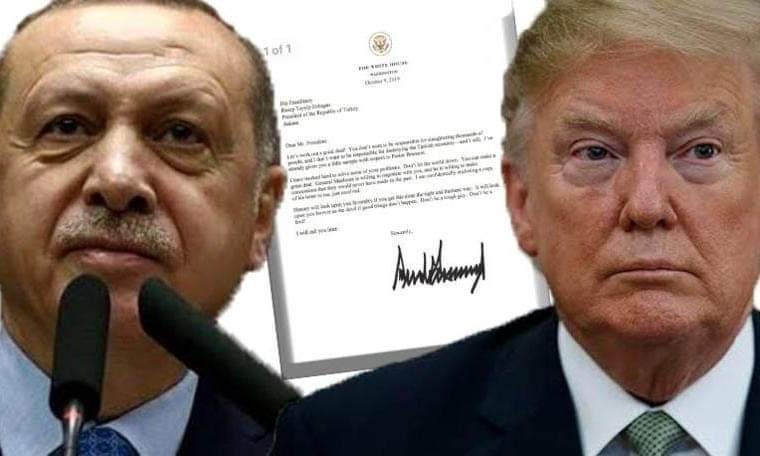 Erdoğan'dan Trump'a flaş #mektup cevabı