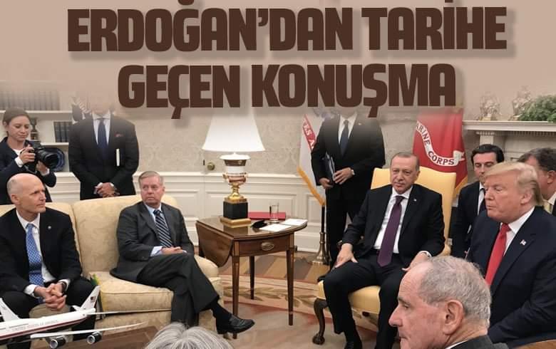 Erdoğan: Bu mektupları bugün sayın Başkan'a takdim ettim