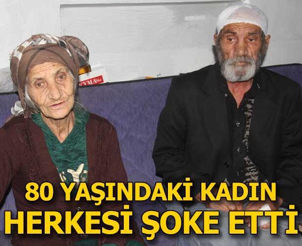 Adana'da 80 yaşındaki kadın, kendisinden 17 yaş küçük kocasını odunla dövüp bıçakladı