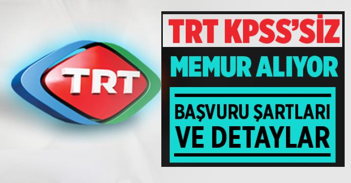 TRT 150 Kamu Personeli Alımı Yapacaktır