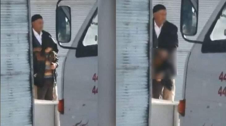 Ankara'da mide bulandıran görüntü