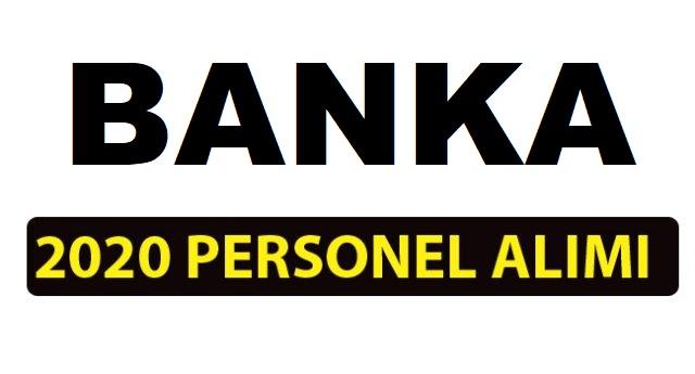 Gişe görevlisi, banka memuru ve müfettiş yardımcısı iş ilanları 2020
