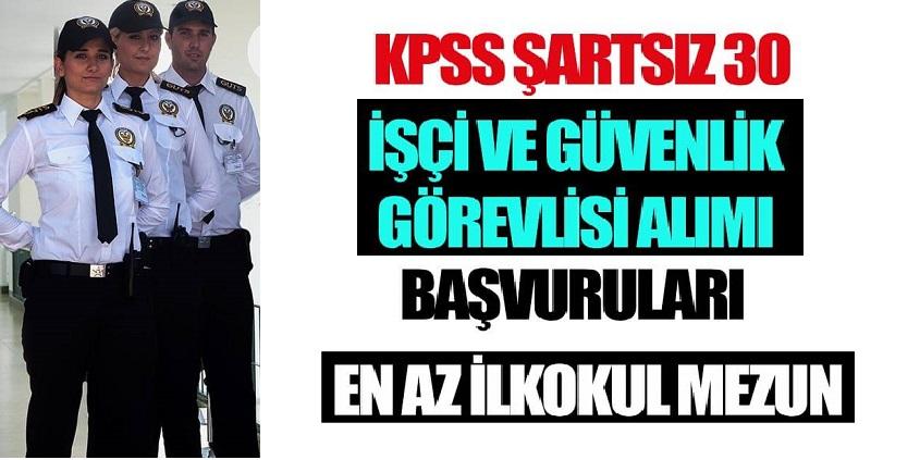 Diyarbakır Üniversitesi Sürekli Kadrolu 30 Güvenlik , Temizlikçi Alıyor