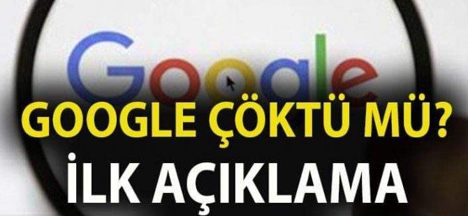 İnternet neden yok? Google çöktü mü