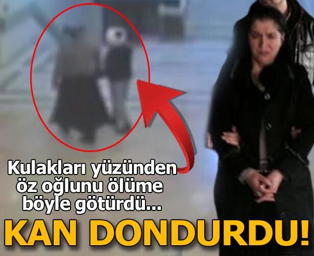 Ameliyat olan oğlunu hastanede öldüren anne: Cennete gidecek diye...