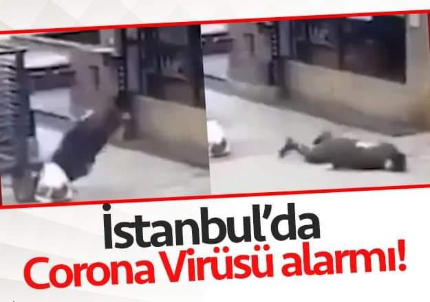 İstanbul'da Corona Virüsü Paniği