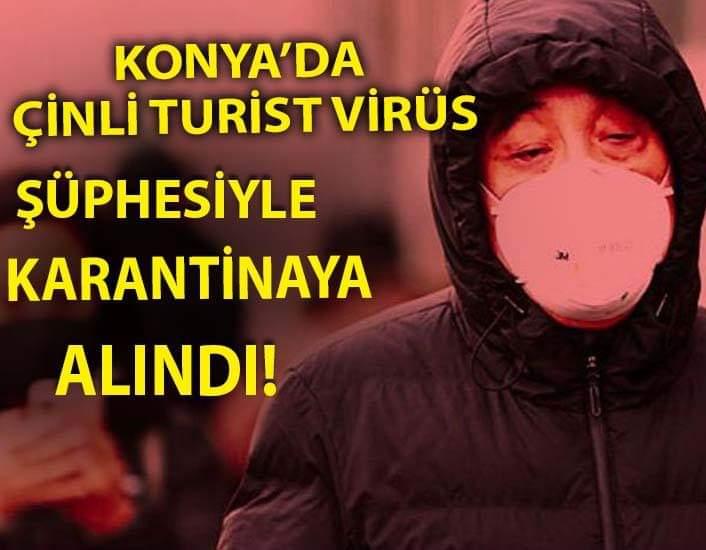 Konya'da Corona Virüsü