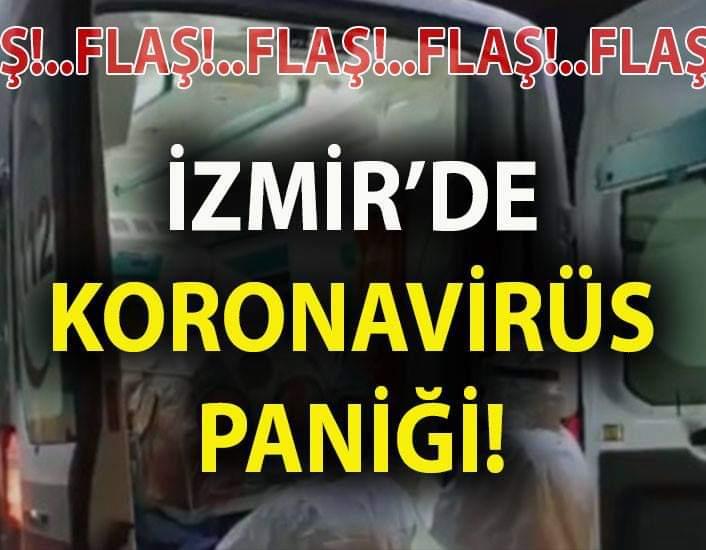 Koronavirüs İzmirde