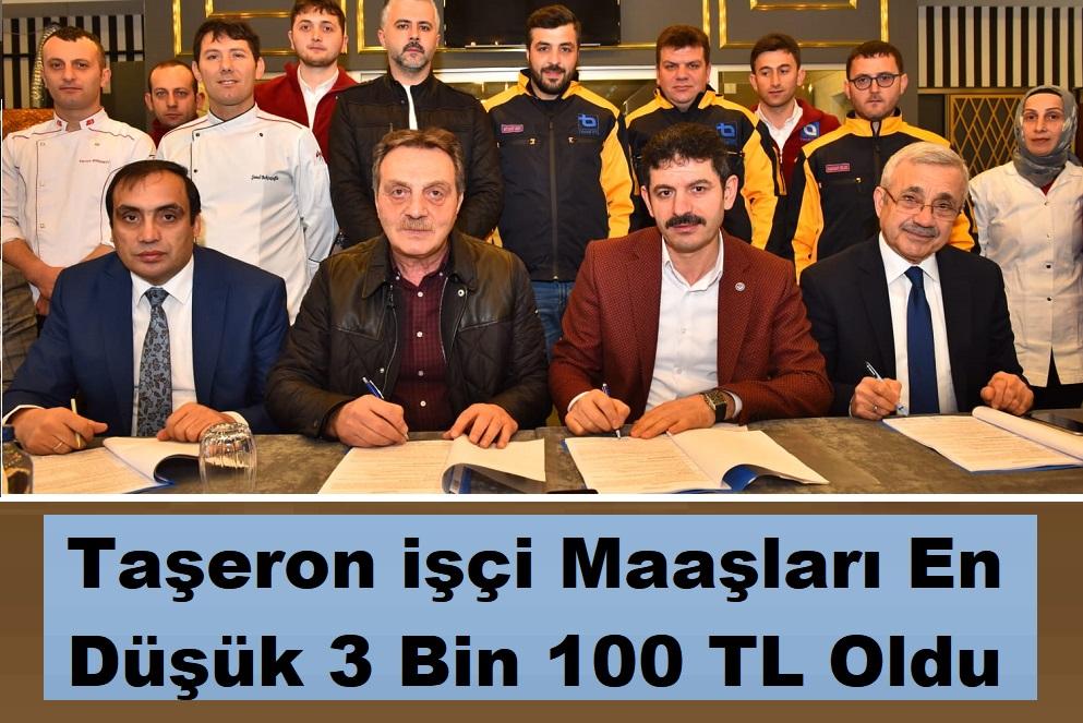 Trabzon'da Taşeron işçi Maaşları En Düşük 3 Bin 100 TL Oldu