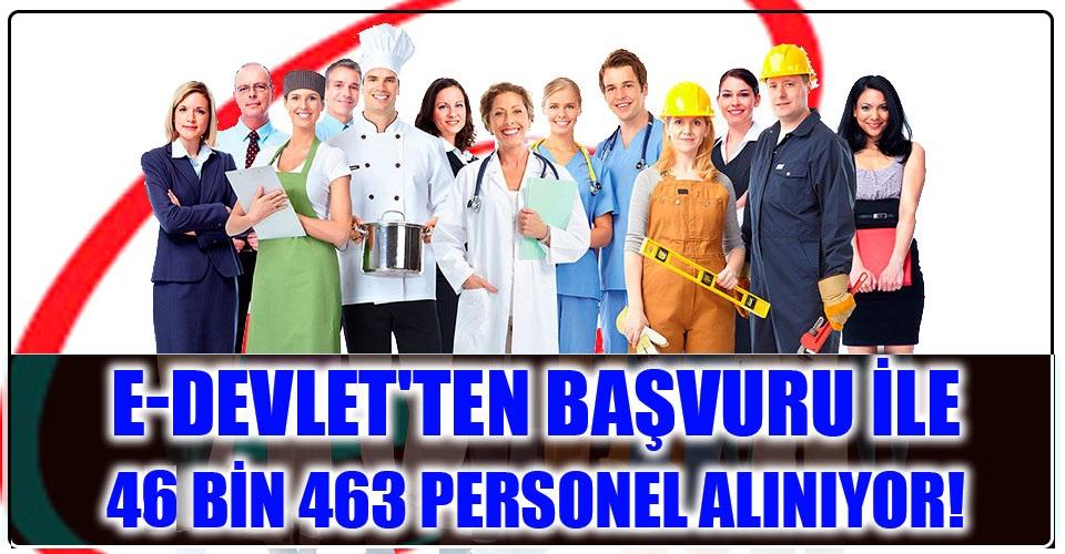 47bin 653 personel alımı yapılıyor. ŞUBAT 2020 İŞ İLANLARI