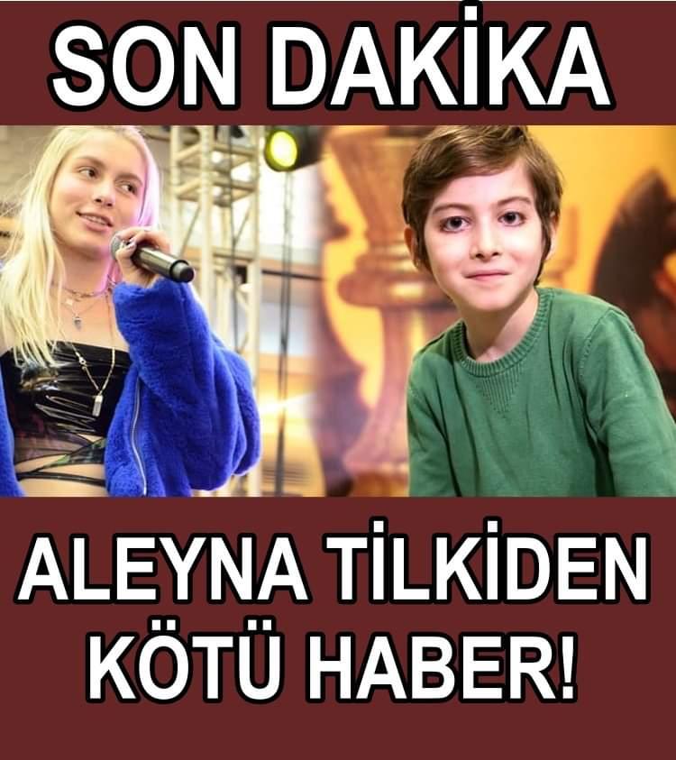 Aleyna Tilki'den kötü haber