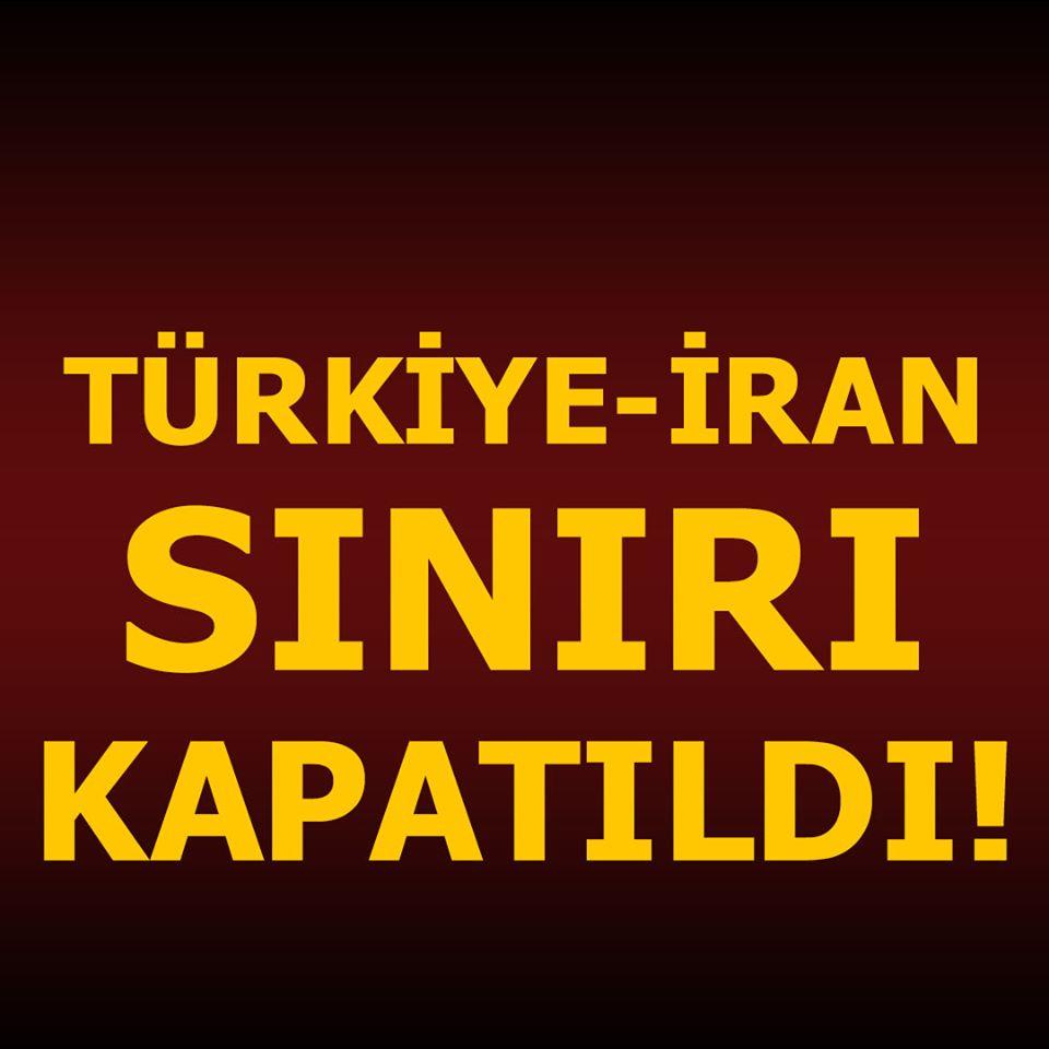 Az önce açıklandı! Türkiye sınır kapısını kapattı