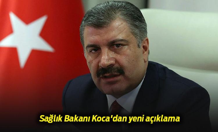 Sağlık Bakanı Fahrettin Koca DUYURDU 24 Mart 2020