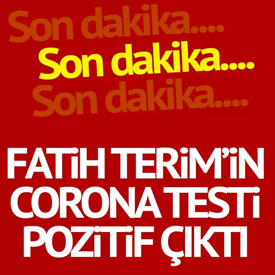Fatih Terim CORONAVİRÜS